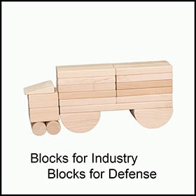 Childrens Blocks Truck