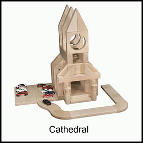 Childrens Blocks Cathedral
