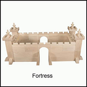 Wood Blocks Fortress