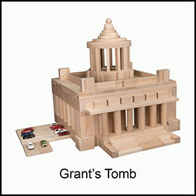 Toy Blocks Grant's Tomb
