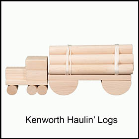 UNit Blocks Kenworth Truck