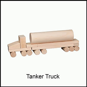 Unit Blocks Tanker Truck