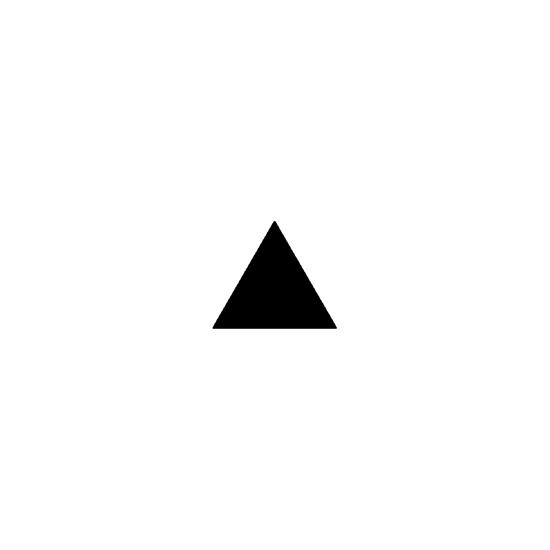 Picture of 5.5 in tall equilateral triangle