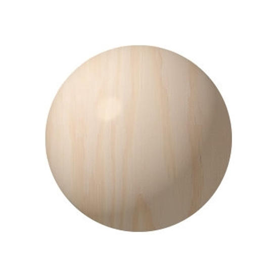 Picture of 3.0 In. solid wooden ball