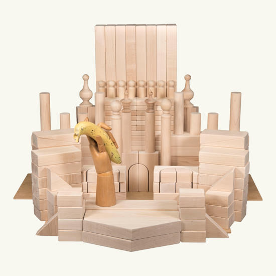 Picture of (BASB) The Basic Set of Wooden Blocks for older children