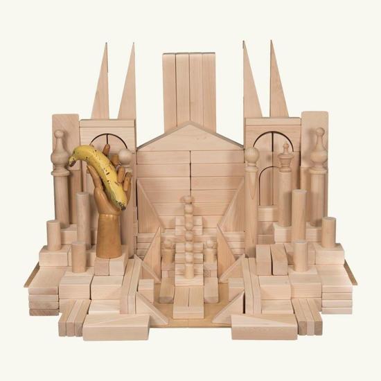 Picture of (BASA) The Basic Set of Wooden Blocks for older children
