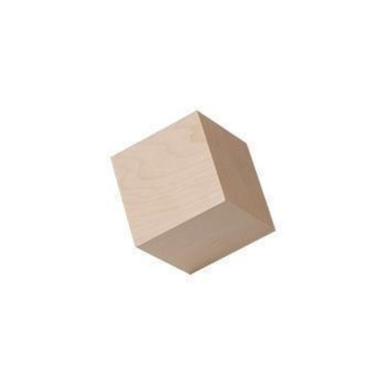 3/4 inch cubes