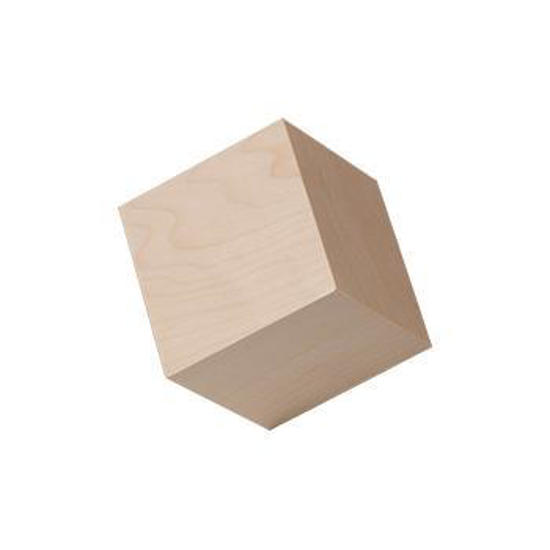 """Picture of 1"""" In. hardwood wooden cubes"""