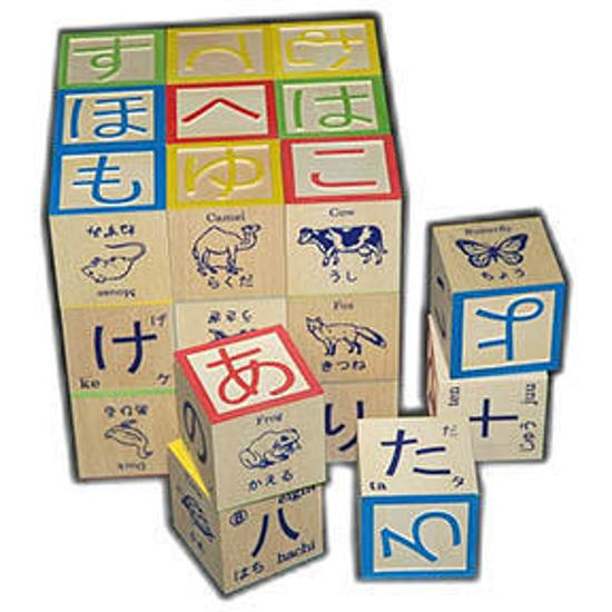 Japanese Character Blocks
