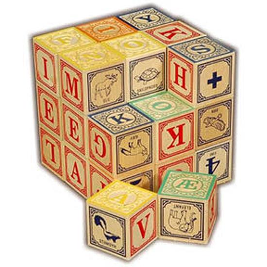 Dutch Alphabet Blocks